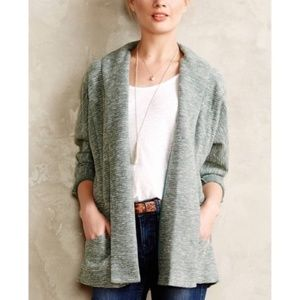 ANTHRO SATURDAY SUNDAY Green Open Cardigan Sweater